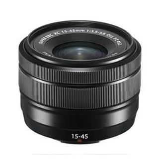 フジフイルム(富士フイルム)の新品 富士フイルム XC 15-45mm クロ 1年保証 送料無料(レンズ(ズーム))