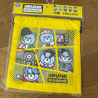 ビッグバン(BIGBANG)のBIGBANG 巾着袋(キャラクターグッズ)