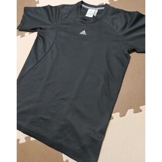 アディダス(adidas)の☆アディダス トレーニングウェア 半袖 黒 サイズL ●ATP-607(トレーニング用品)