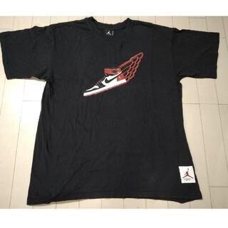 ナイキ(NIKE)のエアージョーダン 1st つま黒 Tシャツ ナイキ製 NBA シカゴブルズ(バスケットボール)