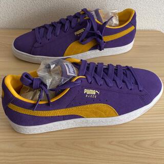 プーマ(PUMA)のPUMA SUEDE TEAMS 28cm [新品未使用] レイカーズ 紫×黄(スニーカー)