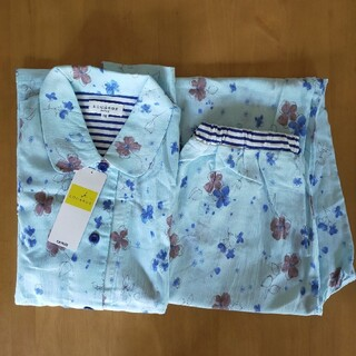 GUNZE - 新品 グンゼ レディースパジャマ M 綿100% 七分袖 長ズボン