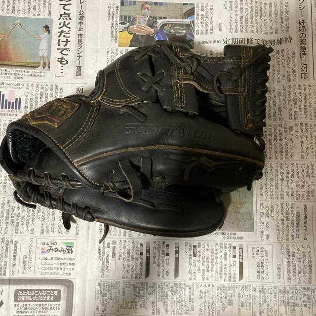 MIZUNO(ミズノ)の野球グローブ ミズノ ゼット 2点 スポーツ/アウトドアの野球(グローブ)の商品写真