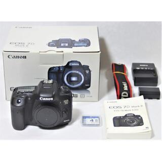 Canon - (((美品)))CANON EOS 7D MarkⅡボディー元箱など