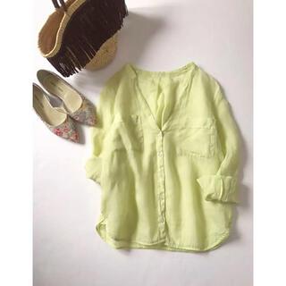 TOMORROWLAND - TOMORROWLAND MACPHEE リネンシャツ
