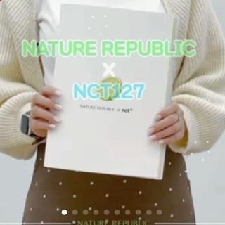 NATURE REPUBLIC - ネイチャーリパブリック NCT127  非売品 写真集 新品 未開封  ①