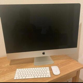 マック(Mac (Apple))のimac 27インチ 2015年モデル 爆速(デスクトップ型PC)