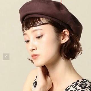 ビューティアンドユースユナイテッドアローズ(BEAUTY&YOUTH UNITED ARROWS)の美品 BEAUTY&YOUTH 別注 RACAL ベレー帽(ハンチング/ベレー帽)