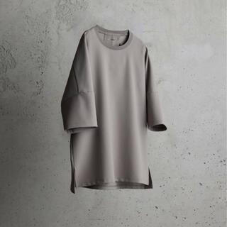 アタッチメント(ATTACHIMENT)のATTACHMENT WYM IRREGULAR SLEEVE RELAXTEE(Tシャツ/カットソー(半袖/袖なし))