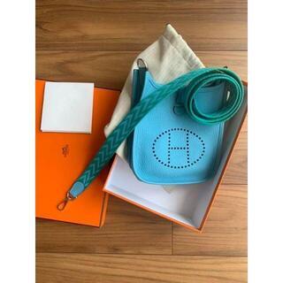 Hermes - ページ エルメス ミニエブリン16TPMブルー青バンドリエール