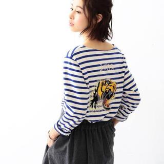 BEAMS BOY - BEAMS BOY x 東洋エンタープライズ 刺繍バスクシャツ