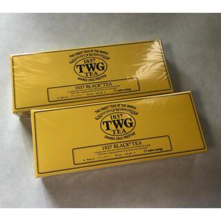 未開封【TWG TEA】BLACK TEA ブラックティー コットンティーバッグ(茶)