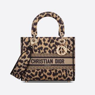 Dior - dior LADY D-LITE ミディアムバッグ Mizza エンブロイダリー