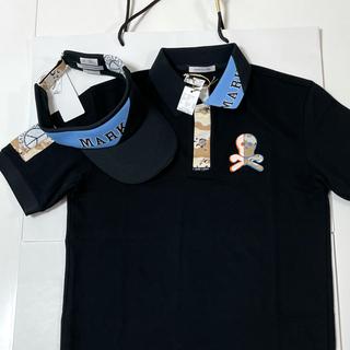 MARK&LONA - 試着のみ★ 木村拓哉さん着用 MARK&LONA ポロシャツ バイザー ポロ