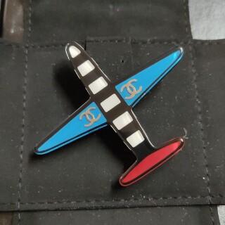 CHANEL - CHANEL ブローチ 飛行機 ココマーク