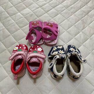 ニシマツヤ(西松屋)の13センチ子供靴セット(スニーカー)