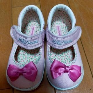 ミキハウス(mikihouse)のミキハウス 靴 14.5(スニーカー)