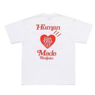 ジーディーシー(GDC)のHUMAN MADE girls don't cry コラボTシャツ(Tシャツ/カットソー(半袖/袖なし))