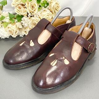 ドクターマーチン(Dr.Martens)の☆イングランド☆Dr.Martens 22cm ベルト レザーシューズ 厚底(ローファー/革靴)