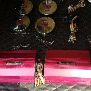 ビートソニックセット301CB(カーオーディオ)