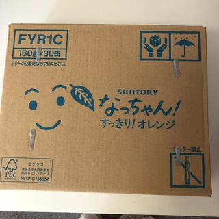 サントリー - サントリー なっちゃん オレンジ 160g 30缶入り✖︎3箱