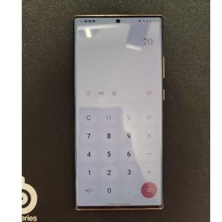Galaxy - 【純正フリップケース付】Galaxy  Note 20 Ultra 5G 香港版