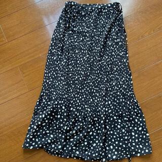 LOWRYS FARM - プリーツマーメイドラップスカート