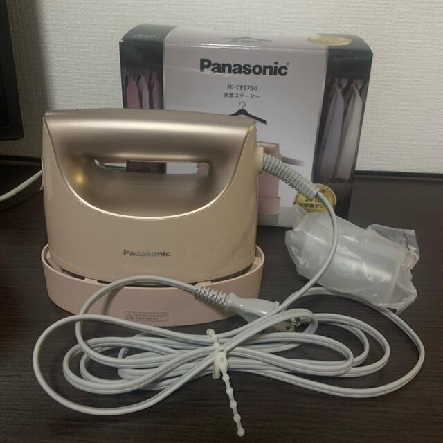 Panasonic(パナソニック)のパナソニック 衣類スチーマー ni-cfs750 スマホ/家電/カメラの生活家電(アイロン)の商品写真
