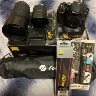 Nikon - ★即購入OK★NIKON 一眼レフ D5600 ダブルズームキット+α