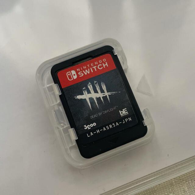 Nintendo Switch(ニンテンドースイッチ)のデッドバイデイライト公式日本版 Switch (美品) エンタメ/ホビーのゲームソフト/ゲーム機本体(家庭用ゲームソフト)の商品写真
