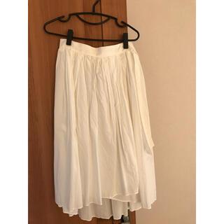 ロペ(ROPE)のロペ 巻きスカート(ひざ丈スカート)