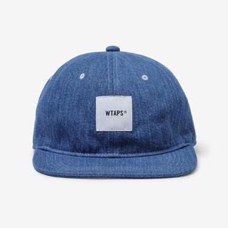 W)taps - T-6H 01 /  CAP / COTTON. DENIM INDIGO