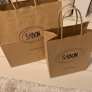 サボン(SABON)のSABONショッパー3枚(ショップ袋)