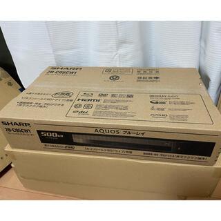 SHARP - 新品 アクオス ブルーレイレコーダー500GB HDD搭載 2B-C05CW1