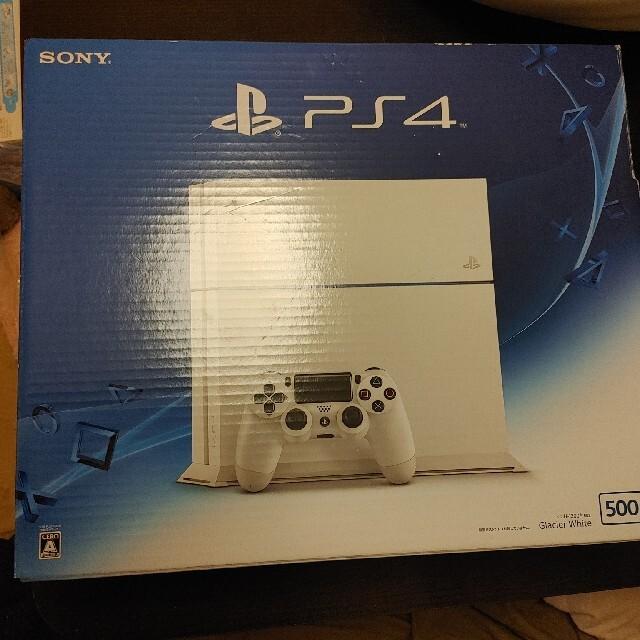 PlayStation4(プレイステーション4)のPS4 CHU-1200A 500GB エンタメ/ホビーのゲームソフト/ゲーム機本体(家庭用ゲーム機本体)の商品写真