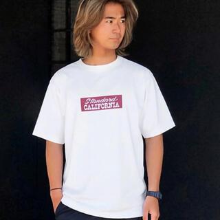 スタンダードカリフォルニア(STANDARD CALIFORNIA)のスタンダードカリフォルニア Tech Dry Box Logo T tシャツ(Tシャツ/カットソー(半袖/袖なし))