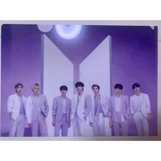 BTS ベスト アルバム ユニバ 特典 V テヒョン テテ クリアファイル
