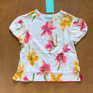 ハッカキッズ(hakka kids)のハッカキッズ 新品 110 花柄 トップス(Tシャツ/カットソー)