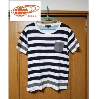BEAMS - BEAMS ビームス 半袖 ボーダー Tシャツ ティシャツ
