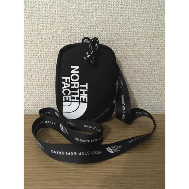 THE NORTH FACE(ザノースフェイス)の新品 限定 ノースフェイス ネックストラップ ウォレット 財布 黒 メンズのファッション小物(コインケース/小銭入れ)の商品写真