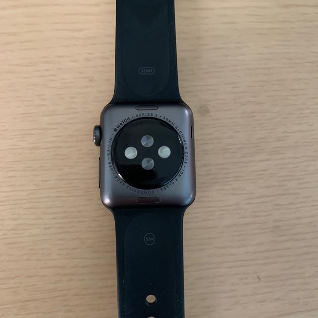 Apple Watch(アップルウォッチ)のapple watch series3  メンズの時計(腕時計(デジタル))の商品写真