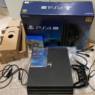 プレイステーション4(PlayStation4)のプレイステーション4 pro 本体 CUH-7100 1TB(家庭用ゲーム機本体)