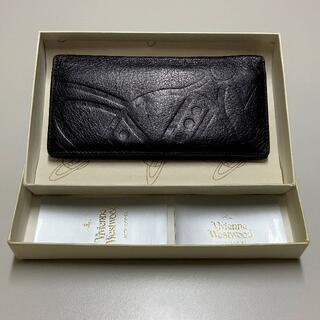 ヴィヴィアンウエストウッド(Vivienne Westwood)のヴィヴィアン ウエストウッド ロンドン 型押し 本革 レザー長財布(長財布)