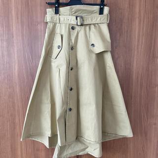 ガリャルダガランテ(GALLARDA GALANTE)のトレンチスカート ロングスカート(ロングスカート)