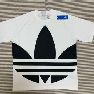 adidas - アディダスビッグロゴTシャツ