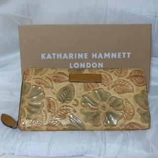 KATHARINE HAMNETT - 値下げしました。キャサリン ハムネット長財布