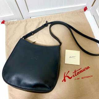 キタムラ(Kitamura)の美品 Kitamura キタムラ レザー 本革 ショルダーバッグ(ショルダーバッグ)