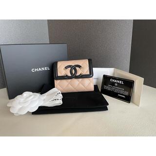 シャネル(CHANEL)のシャネル  スモールウォレット 3つ折り財布(財布)