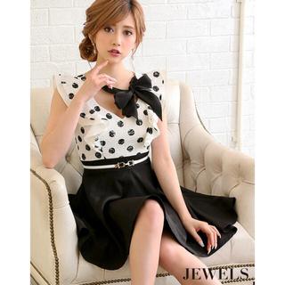 JEWELS - jewels  キャバドレス ドット フレア ドレス ワンピース
