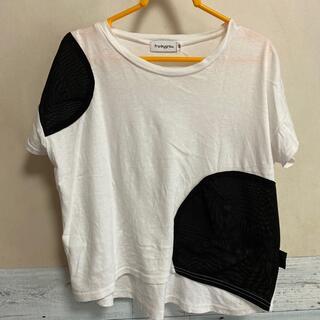 コドモビームス(こども ビームス)のfrankygrow/変形カットソー/フランキーグロウ(Tシャツ/カットソー)